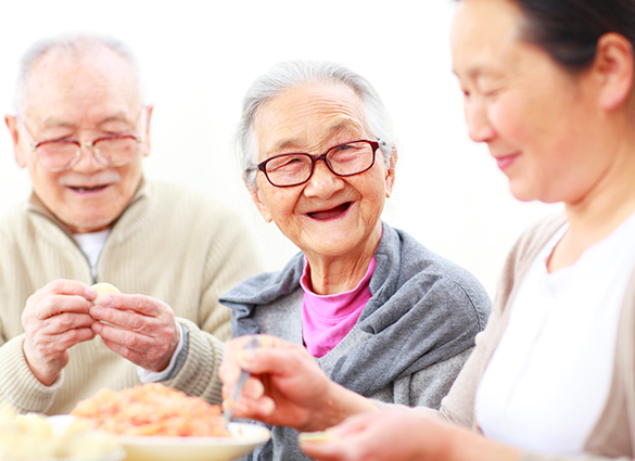 Image of older Asian couple. Assisted Living facilities can be quite specialized. Cultural or religious preferences are popular, as are gender-specific communities and lifestyle-centric. LBGT lifestyle living has recently emerged in senior housing.